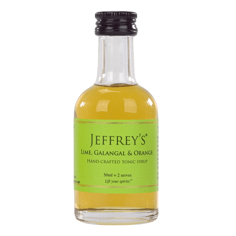 Jeffrey's lime, Galangal & Orange Tonic Syrup