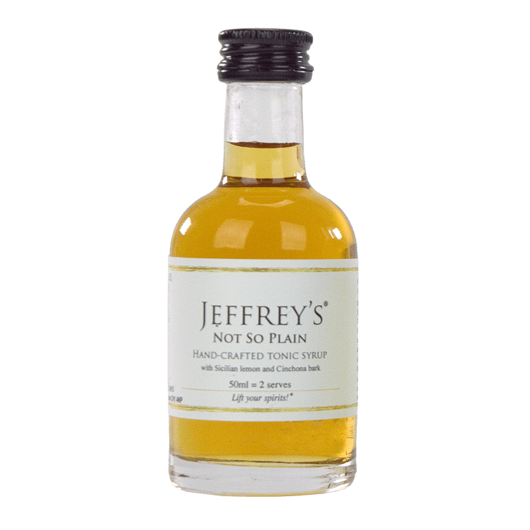 Jeffrey's Not So Plain Tonic Syrup