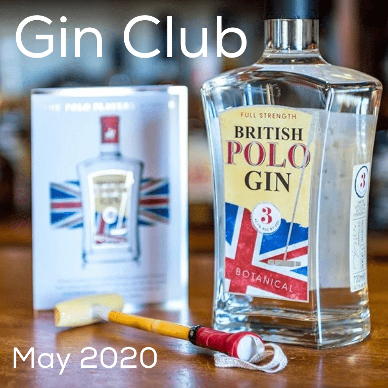 Gin for May 2020 - British Polo Organic Gin No.3
