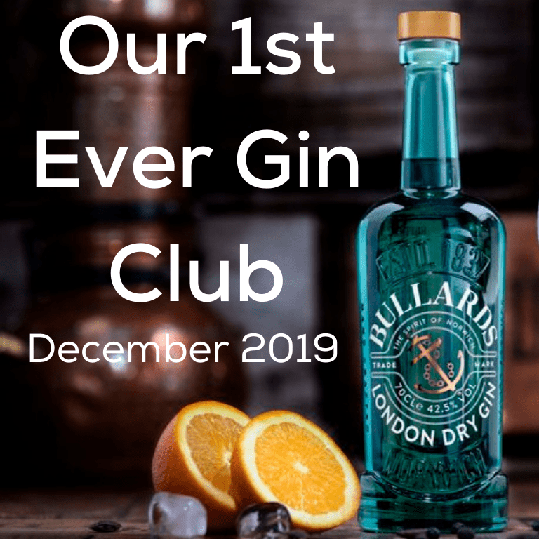Gin for (1st ever) December 2019 - Bullards London Dry Gin