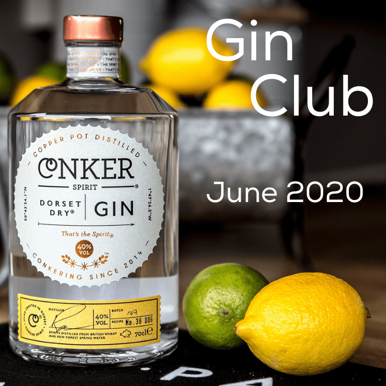 Gin for June 2020 - Conker Spirit Dorset Dry