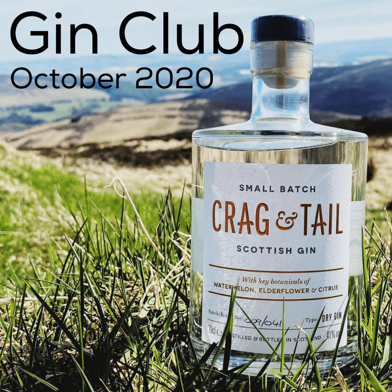 Gin for October 2020 - Crag & Tail Small Batch