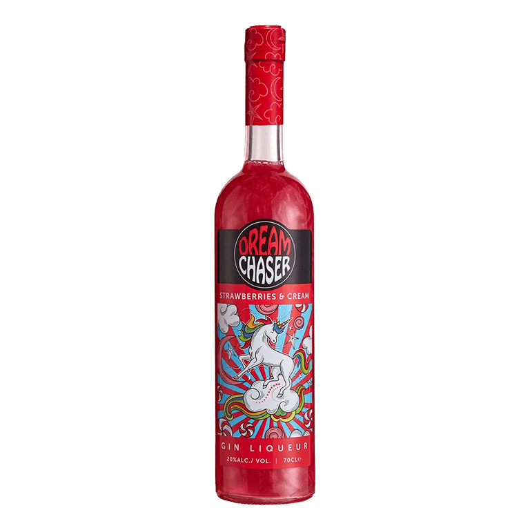 Dreamchaser Strawberries & Cream Gin Liqueur