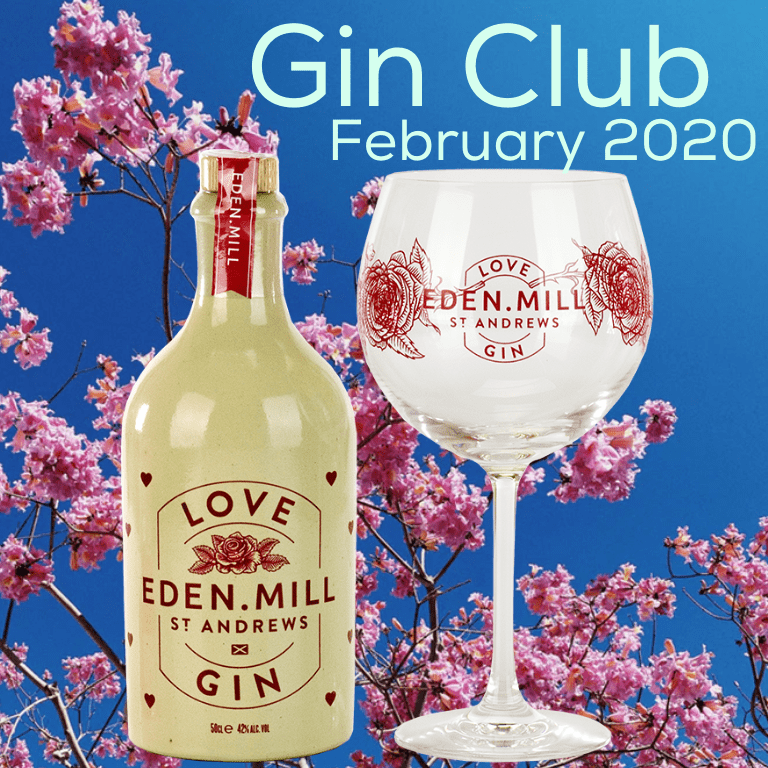 Eden Mill Love Gin and Glass Set (Limited Edition)