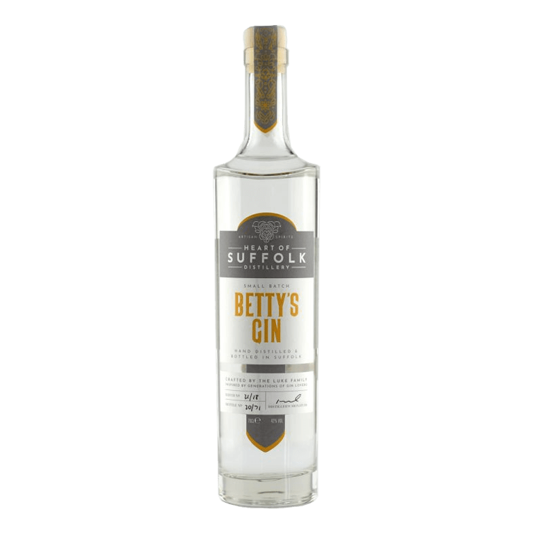 Heart of Suffolk Distillery Small Batch Betty's Gin