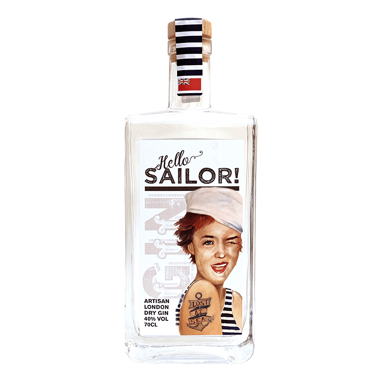 Hello Sailor Artisan London Dry Gin