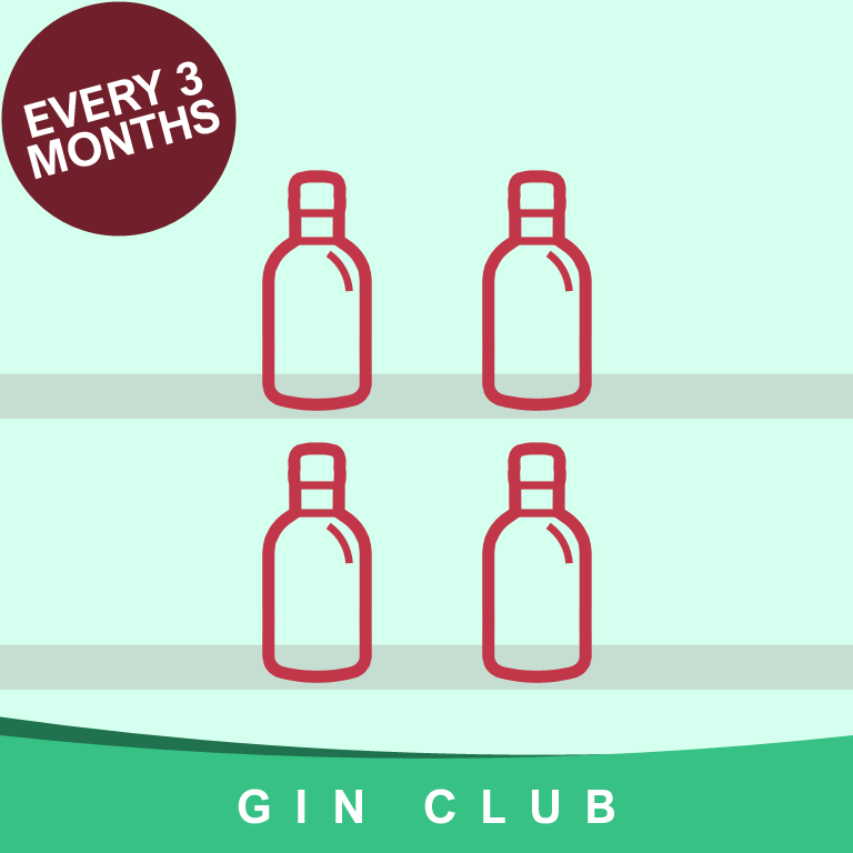 Gin Club Subscription every 3 Months