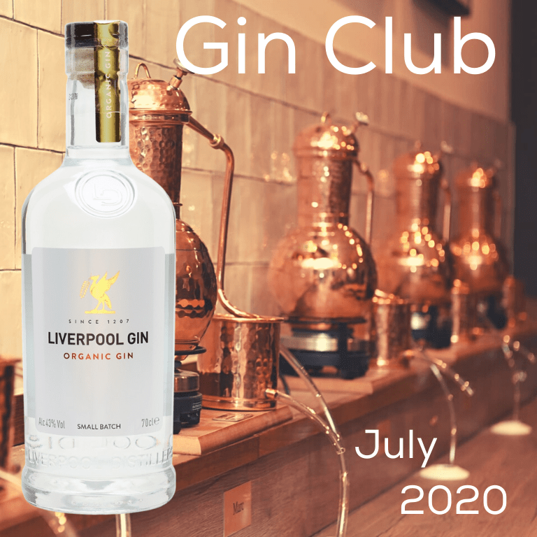 Gin for July 2020 - Liverpool Gin Distillery Organic Gin