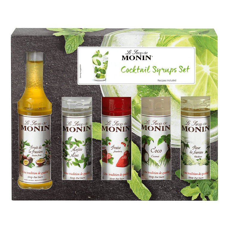Monin Cocktail Syrups Set