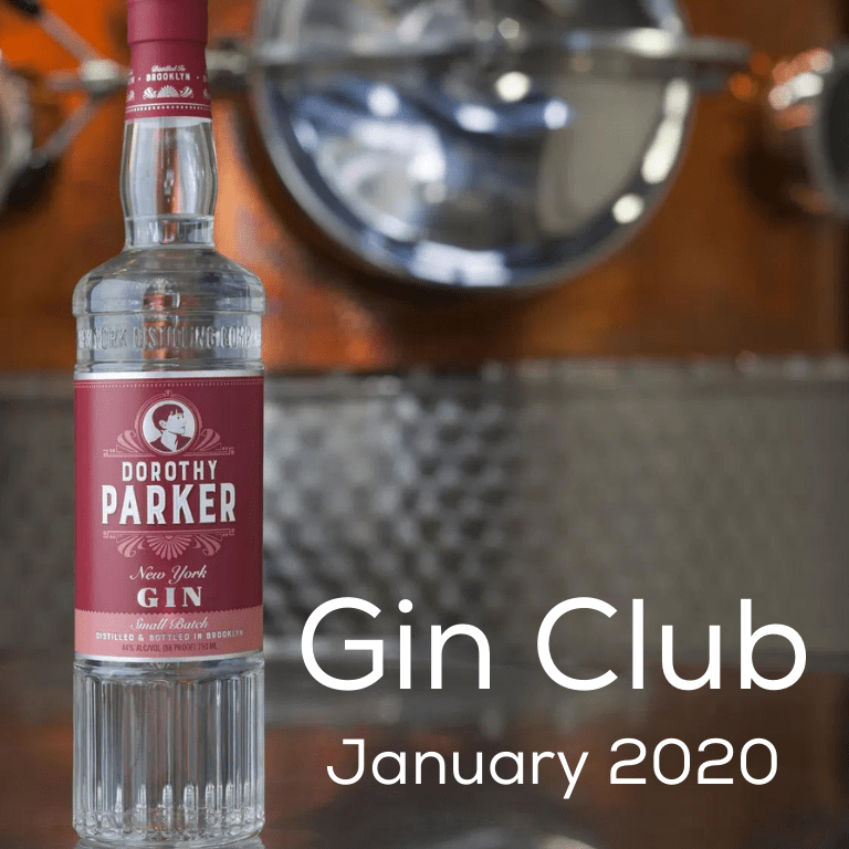 Gin for January 2020 - New York Distilling Company Dorothy Parker