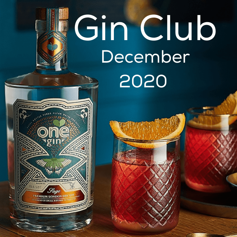 Gin for December 2020 - One Sage Gin