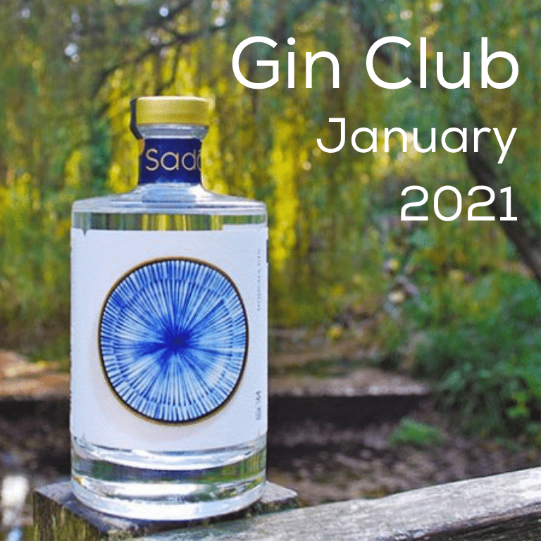 Gin for January 2021 - Sado Gin