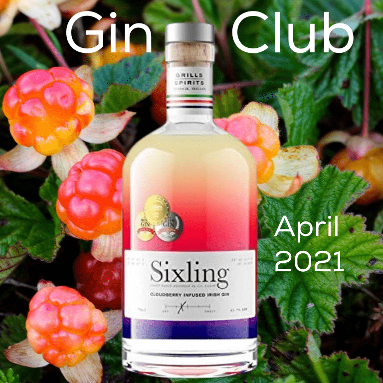 Gin for April 2021 - Sixling Irish Gin
