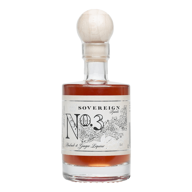 Sovereign Spirits No.3 Rhubarb & Ginger Liqueur Gin