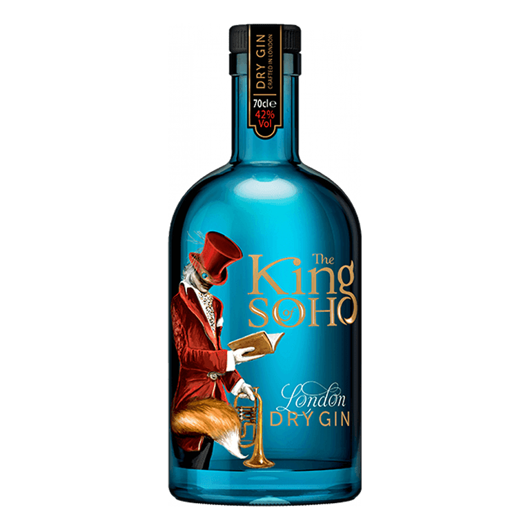 The King Of Soho Dry Gin