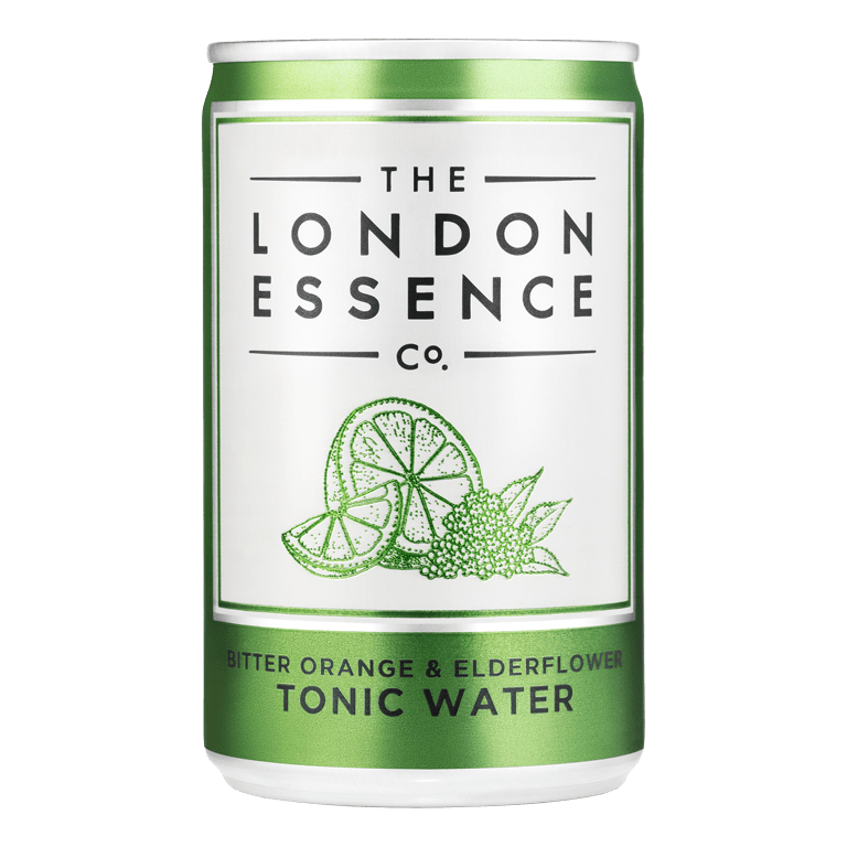 The London Essence Company Bitter Orange & Elderflower Tonic Water