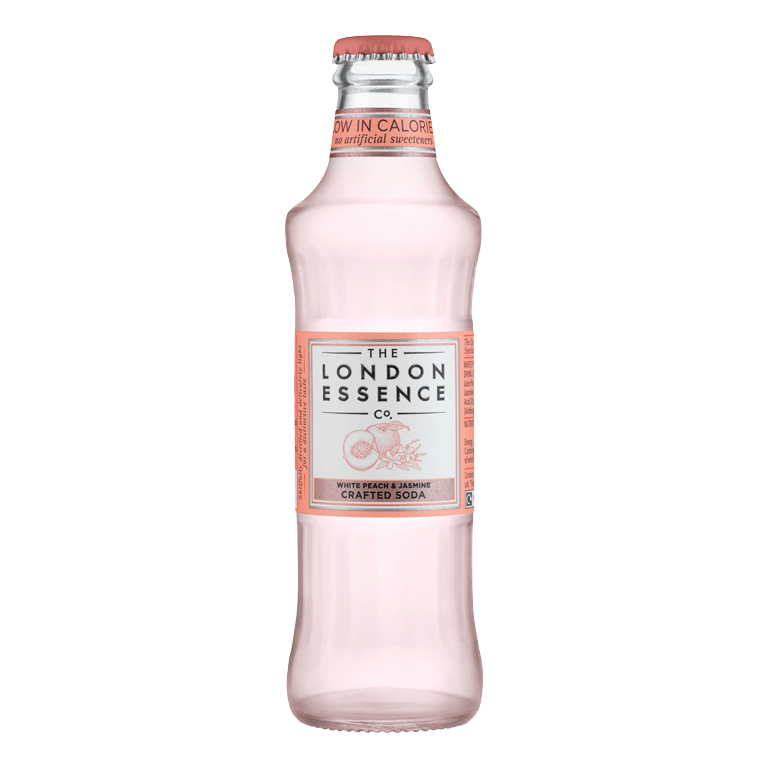 The London Essence Company White Peach & Jasmine Crafted Soda