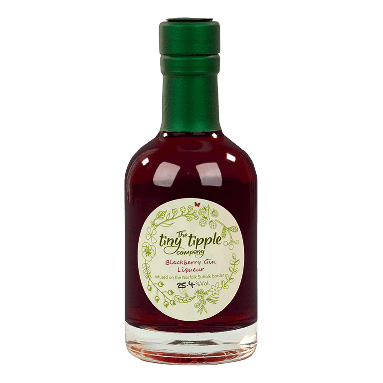 The Tiny Tipple Company Blackberry Gin Liqueur