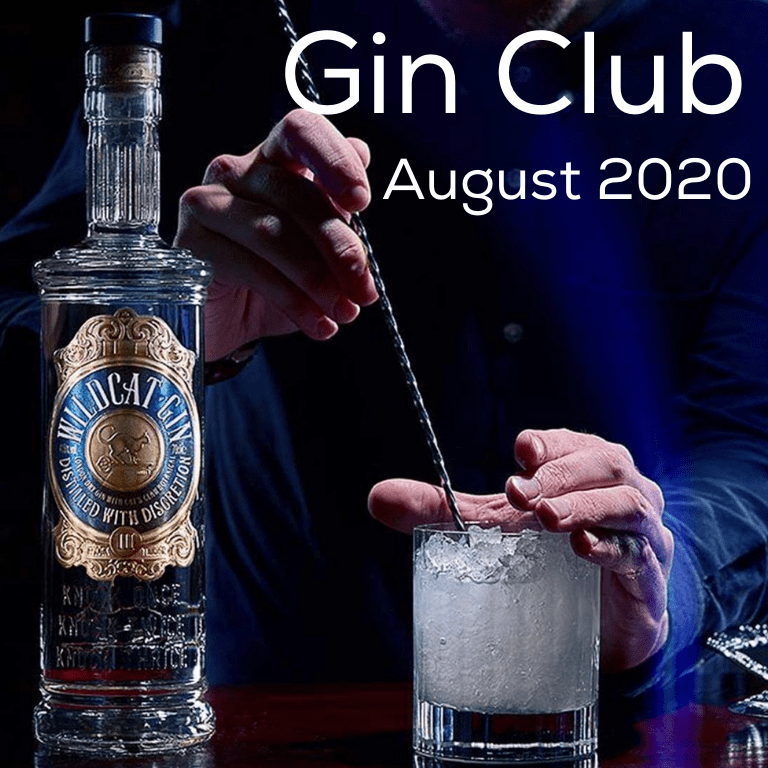 Gin for August 2020 - Wildcat London Dry